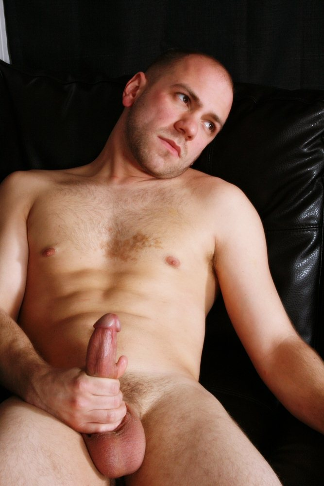 Lean Stud Ryan Plays With His Cock